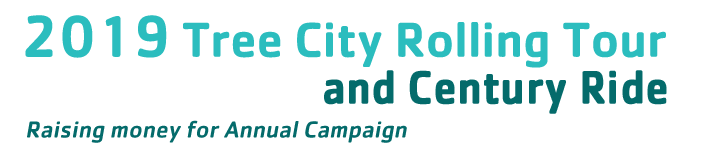 Tree City Rolling Tour and Century: Raising money for Annual Campaign